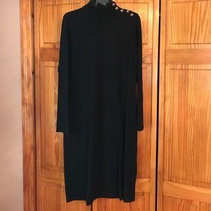 Classy Black Ralph Lauren Sweater Dress